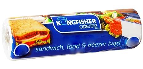 Kingfisher - 200 Grandes Bolsas de congelación de Alimentos ...