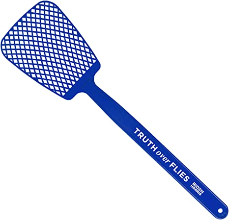 Portable Strong Flexible Fly Swatter for Home Office Daily Truth Over Flies Biden Harris Fly Swatter