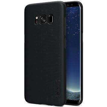 SMTR Samsung Galaxy S8 Funda, Cubierta Slim Armor Funda +1 film Protector de pantalla para Samsung Galaxy S8 Smartphone,(negro): Amazon.es: Electrónica