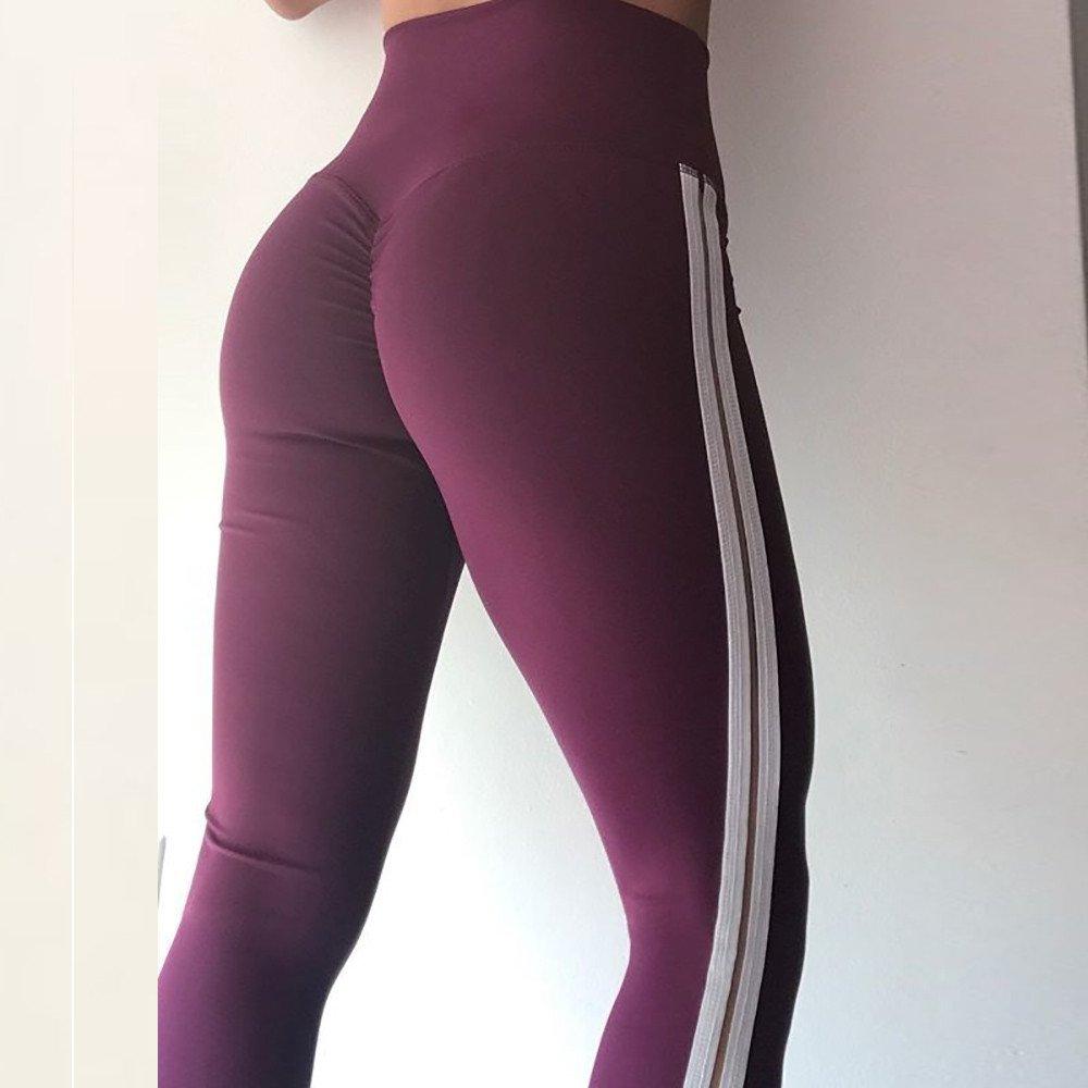Leggins Sportivi Donna,Zolimx Legging Sportivo Vita Alta Anticellulite con Azione Massaggiante Pantaloni Donna Tuta