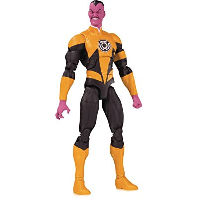 DC Collectibles Essentials: Sinestro Action Figure, Multicolor: Toys & Games