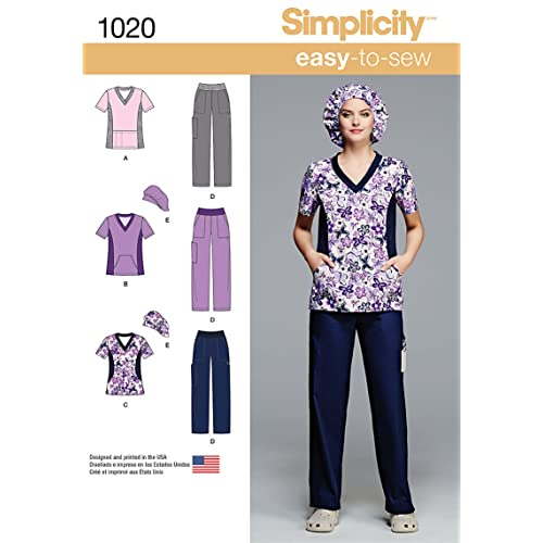 Sewing PATTERNS For Scrubs Amazon Awesome Scrub Patterns