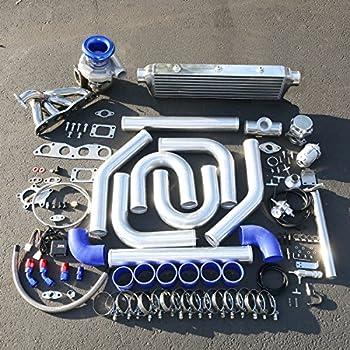 For Honda Civic/Acura RSX 2.0L High Performance 14pcs T04E Turbo Upgrade Installation Kit