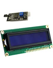 RoboJax LCD1602 LCD Screen 16x2 Character 5V with I2C Serial Interface Module