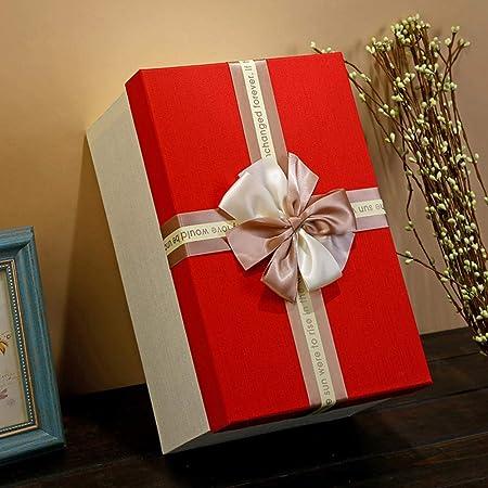 LieXing Caja De Regalo Grande, Caja De Navidad De Cumpleaños De Boda De Cartón Tapa 3 Tamaños: Amazon.es: Hogar
