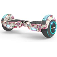Hoverboard UL 2272 Certified Two-Wheel Self Balancing Electric Scooter with Flash Wheel Top LED Light