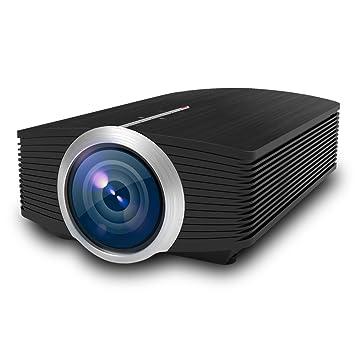 AX Proyector para el hogar, proyector HD de 138 Pulgadas, Control ...