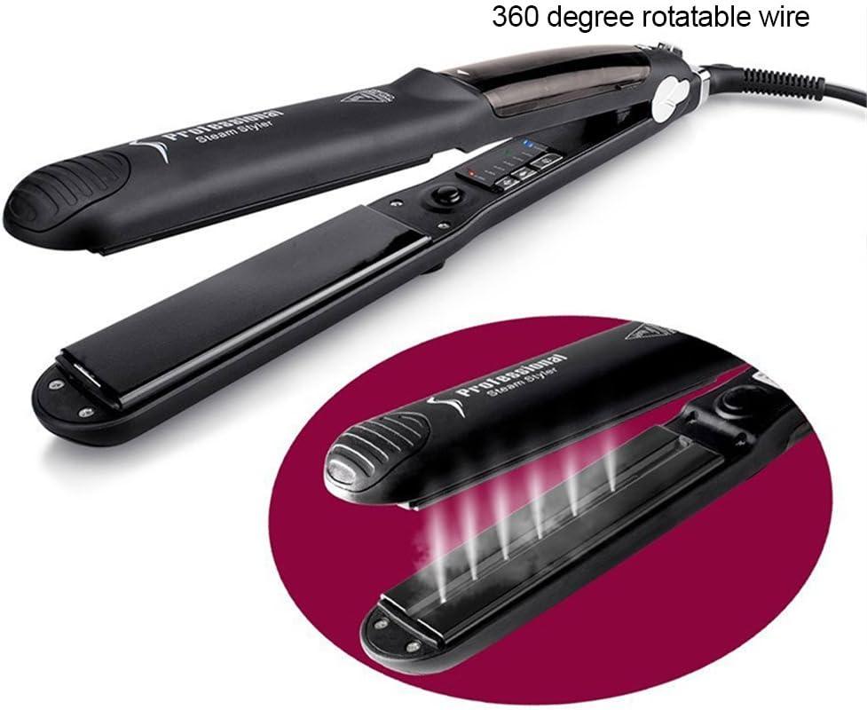 1234 Straight iron,GoodPro Steam Straightening Vapor Hair