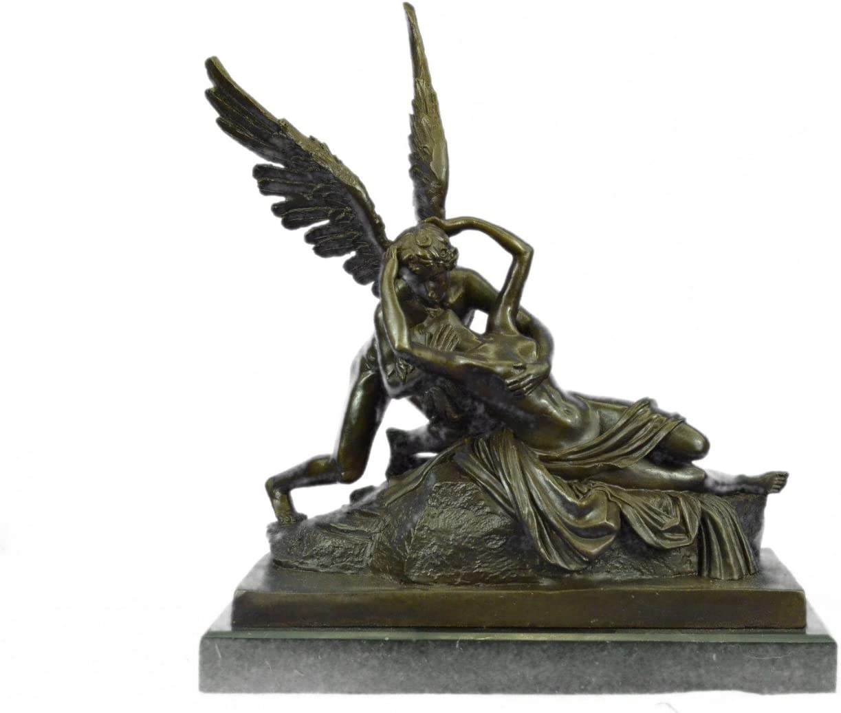 hecho a mano Europea Bronce Escultura mármol firmado