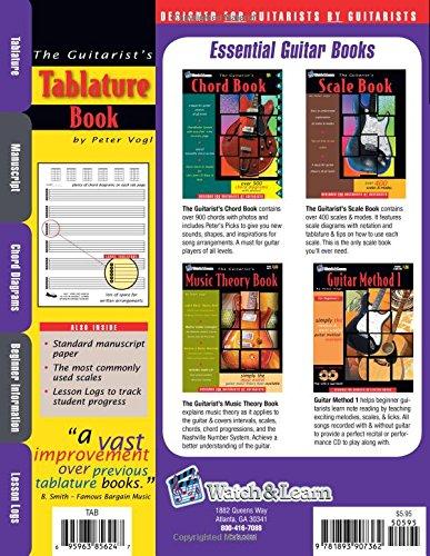 The Guitarist's Tablature Book: Peter Vogl: 9781893907362