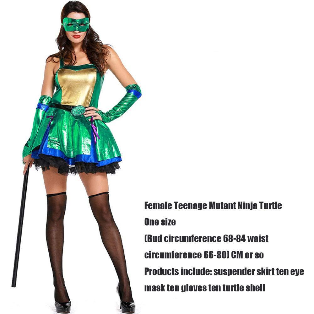 ZSDFGH Disfraz Tortuga Ninja Adulto/caparazon Tortuga ...