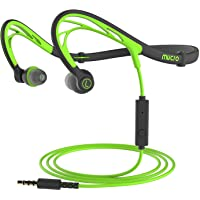 Mxpot Foldable Wired Running Sports Neckband In-Ear Headphones