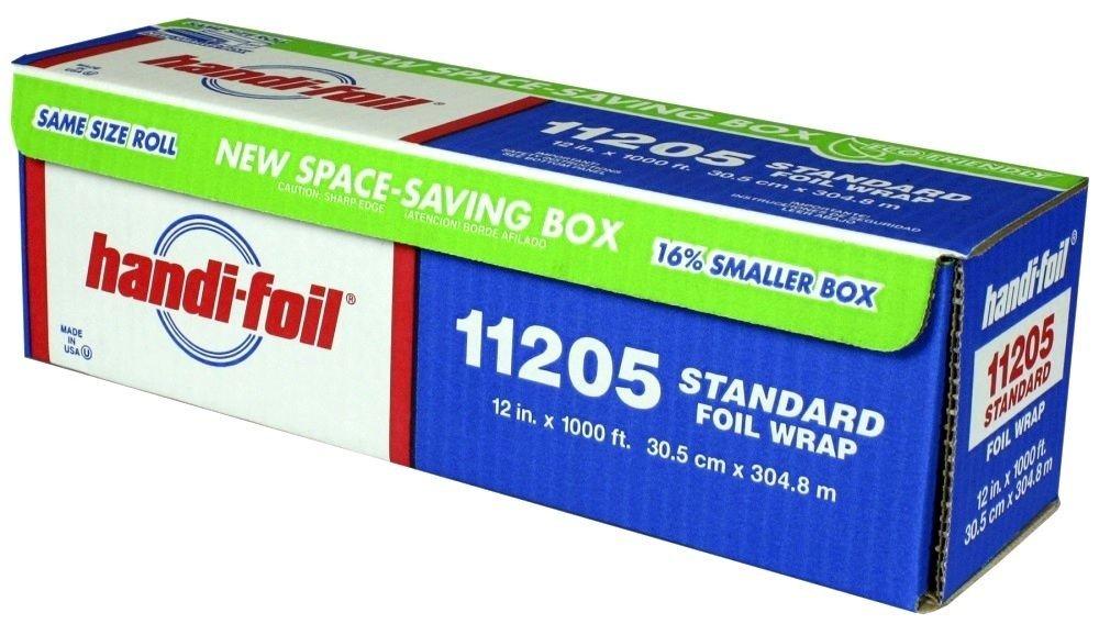 HFA 11205 Handi-Foil 12'' x 1000 Ft Roll Foil - 1 / RL