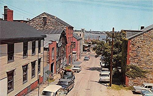 Center Street New Bedford Massachusetts Postcard ()