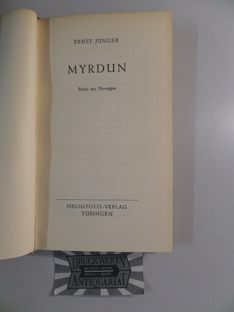 Myrdun. Briefe aus Norwegen.