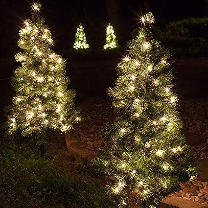 43efc6c1456 Amazon.com   Red Sleigh Pathway Christmas Tree Light