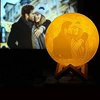 Lámpara de luna personalizada Gahaya foto personalizada impresa en 3D luz de noche creativa romántica con soporte y…