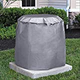 34 in. Round Central Air Conditioner Protective Cover (34 inch Diameter by 30 inch High)