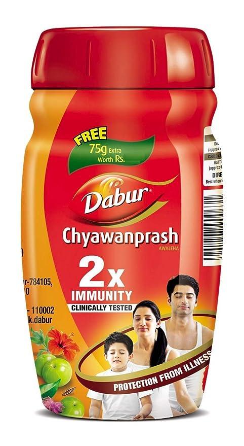 Buy Dabur Chyawanprash 2X Immunity - 500g (Get 75 g Free) Online