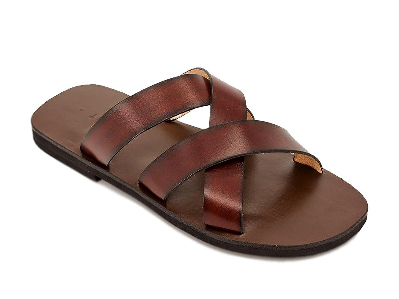 Calpas Freedom - Zapatillas de estar por casa de Piel para hombre marrón marrón 43 EU