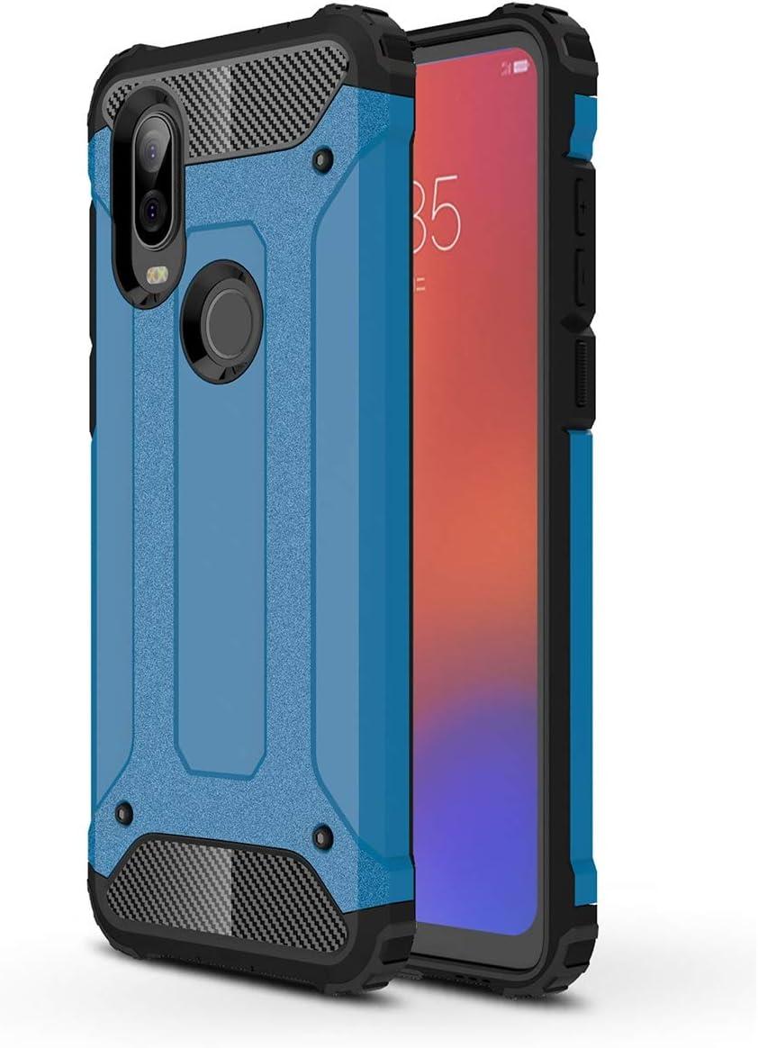 Funda protectora  para teléfono Motorola One Vision (Azul)