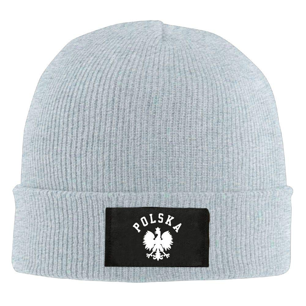 DLOAHJZH-Q Adult Unisex Polska Polish Country Pride Driver Knitted Hat