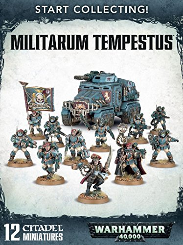 Start Collecting! Militarum Tempestus Warhammer 40,000 by Games Workshop (Guard 40k Imperial Warhammer)