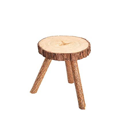 Excellent Asian Home Rustic Tree Trunk Slices Wood Three Legged Plant Stand Vase Stand Display Stand Perfect For Home Decor In Any Room Furniture X Small Beatyapartments Chair Design Images Beatyapartmentscom