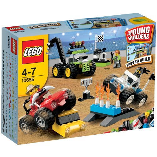 Lego Briques - 10655 - Jeu de Construction - Ensemble de Monster Trucks