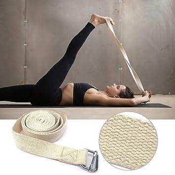 Explopur Correa de Estiramiento de Yoga de 10 pies Correa de ...