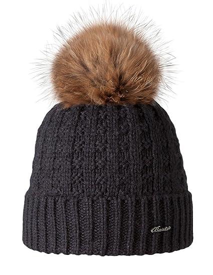 774ef9c38c2 Barts Beanie   MÜtze Filippa Black - One-Size  Amazon.fr  Vêtements ...
