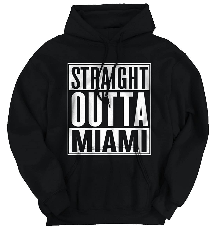 Straight Outta Miami, FL City Funny Movie T Shirts Gift Ideas ...