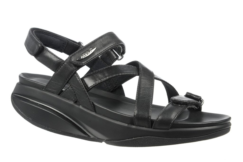 MBT WOMEN'S KIBURI SANDAL (EU39(8-8.5), BLACK)