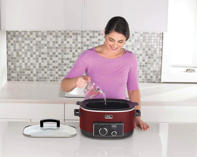 Ninja 6 Quart 3-In-1 Slow Cooker with Recipe Book (Certified Refurbished) by SharkNinja (Image #6)