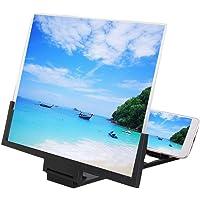 Draagbare 3D HD universeel beeldschermloep, 14 inch (35,56 cm) desktop telefoon beeldversterker videoversterker voor…