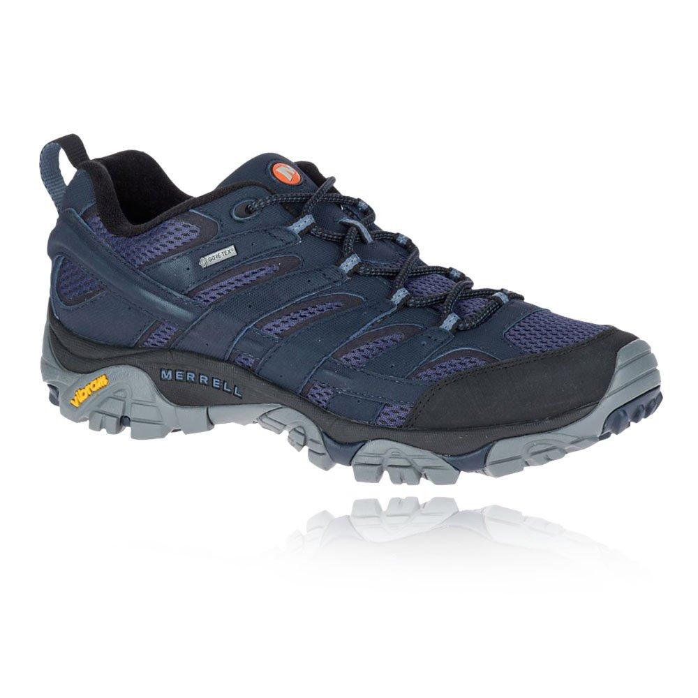 Merrell Moab 2 GTX, Zapatillas de Senderismo para Hombre 42 EU|Azul (Navy Navy)