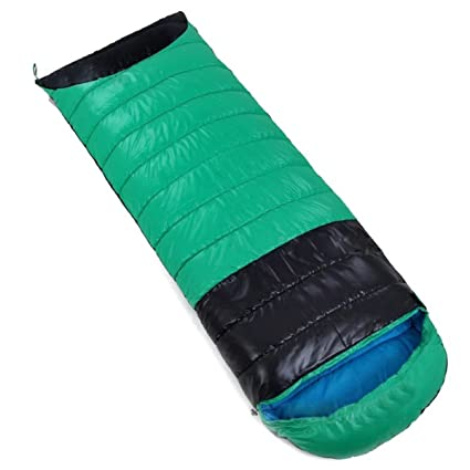 Addora30 Grados Diseño A Prueba De Viento De Camping Algodón Sacos De Dormir Verde Púrpura Azul