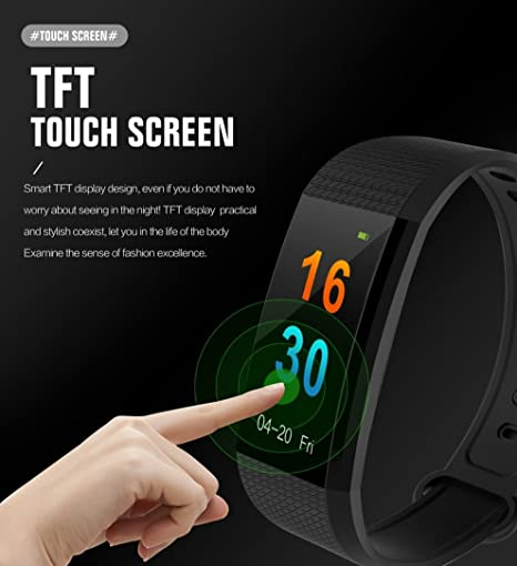 tpulling Mode Color i9 inteligente reloj Agua Densidad Smart Watch ...