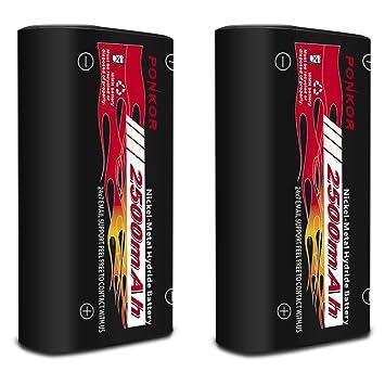 Amazon.com: Paquete de batería y cargador para controlador ...