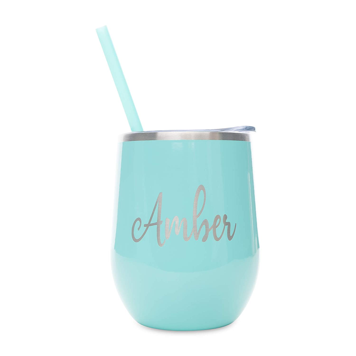 Personalized Cup Teacher 20oz Powder Coated Tumbler 20oz Tumbler Stainless Steel Tumbler Bridal Party Gift Gift For Nurse Mint