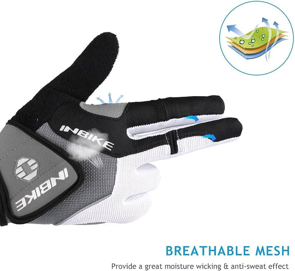 INBIKE Mountain Bike Gloves Cycling for Men MTB Touchscreen Accessories Road