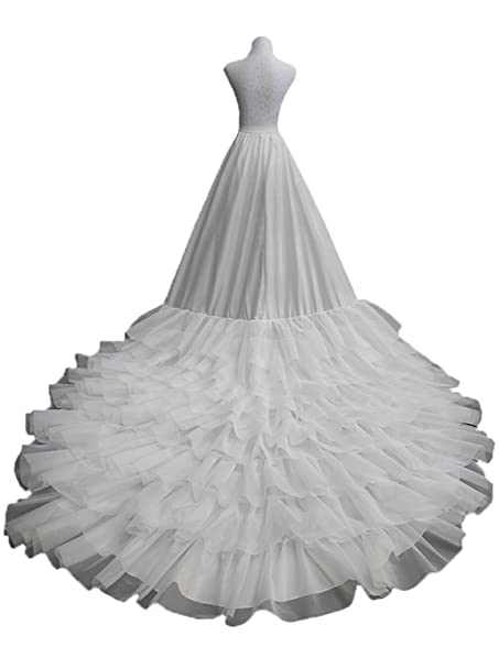 Petticoat Underskirt for Cathedral Wedding Dress Church Train ...