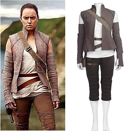 Rubyonly Disfraces Cosplay Rey para Las Mujeres Star Wars Jedi ...