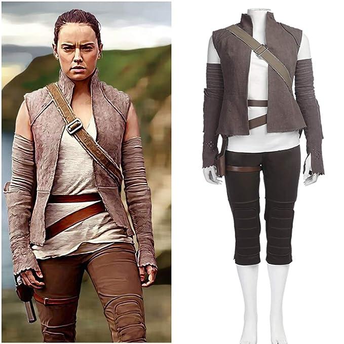 Rubyonly Disfraces Cosplay Rey para Las Mujeres Star Wars Jedi ...