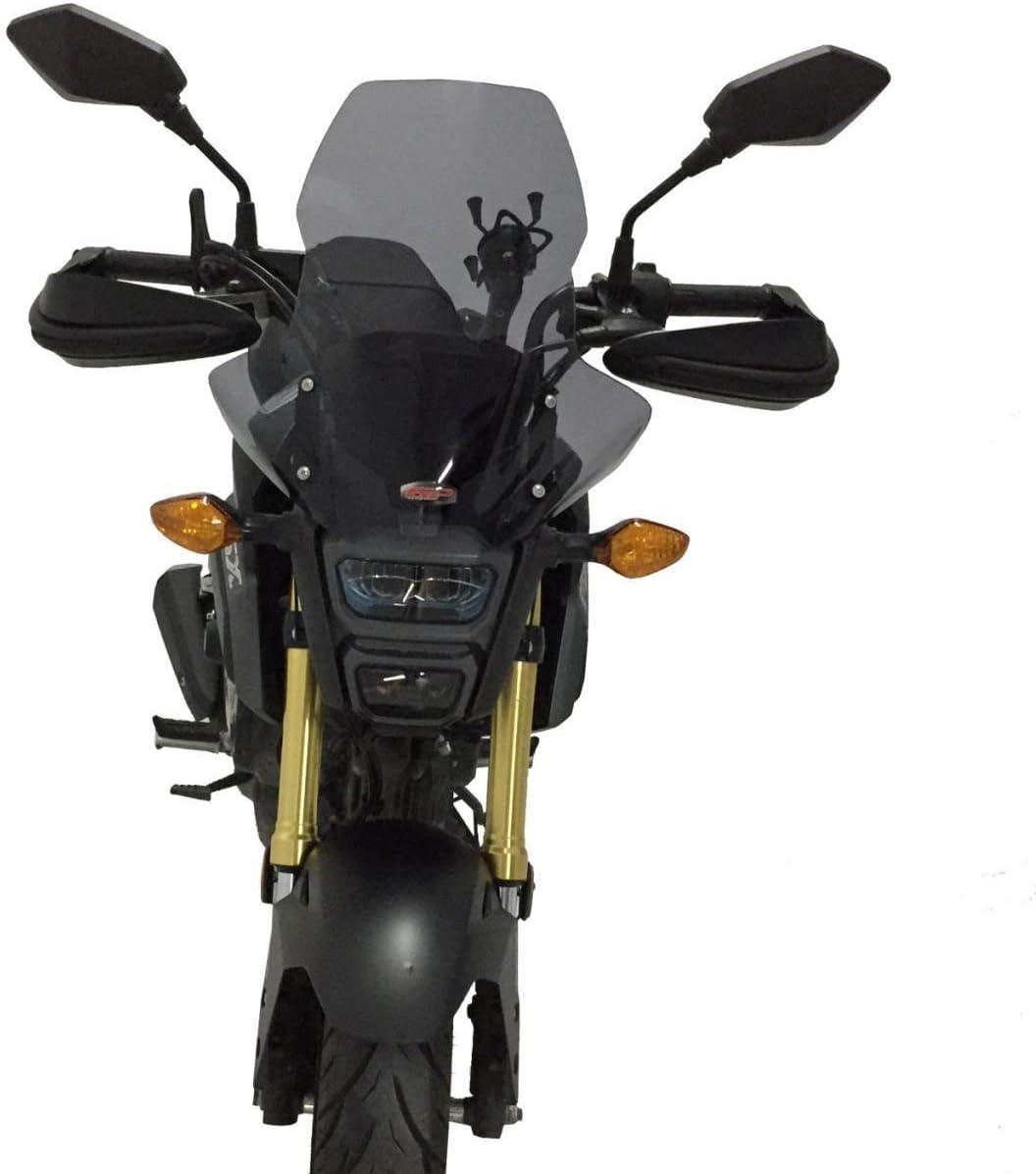 Honda MSX 125 Grom touring windscreen windshield 44cm 2012-19