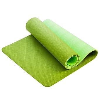 Xfay Yoga Mat,Extra-Gruesa y Suave, Ideal para Fitness y ...