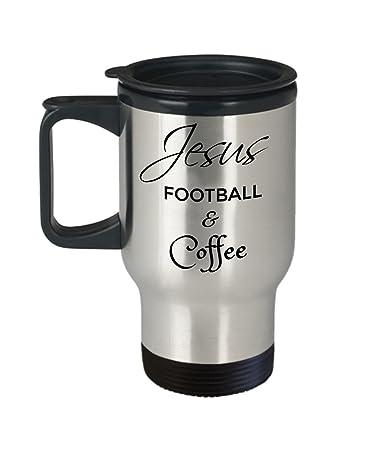 Amazon.com   Jesus Football and Coffee Mug - Christian Gifts for ...