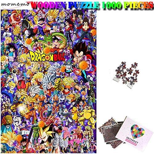 Spetich Dragon Ball Rompecabezas De Madera Personalizado Adulto Madera 1000 Piezas Ensamblar Rompecabezas Juguete Para Niños-50 * 75Cm-1000 Pieza
