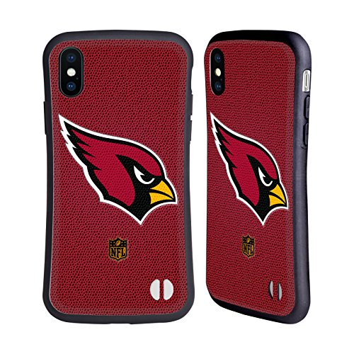 Official NFL Football Arizona Cardinals Logo Hybrid Case for Apple iPhone ()
