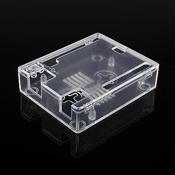 EBS Caja de ABS/Caja para Arduino Uno R3-Transparente: Amazon.es: Electrónica